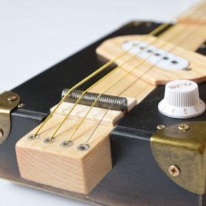 Cigar box guitar kaufen blacky vintage
