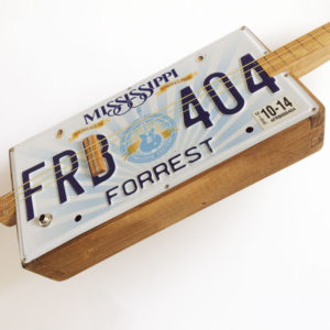 License plate guitar kaufen