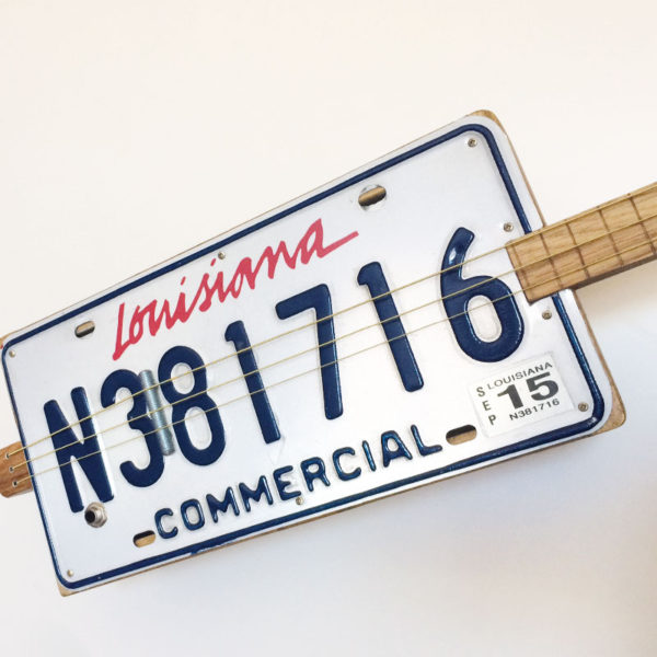 License Plate Guitar Louisiana kaufen