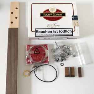Cigar Box Guitar Bausatz 4 saitig
